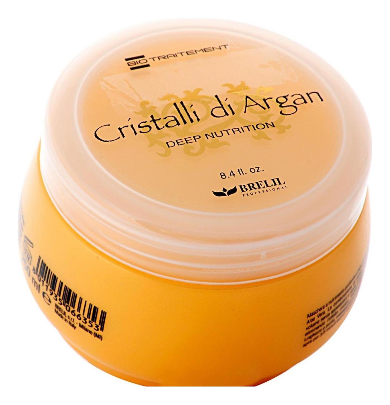 Купить Маска для глубокого восстановления волос Bio Traitement Cristalli Di Argan: Маска 250мл, Brelil Professional