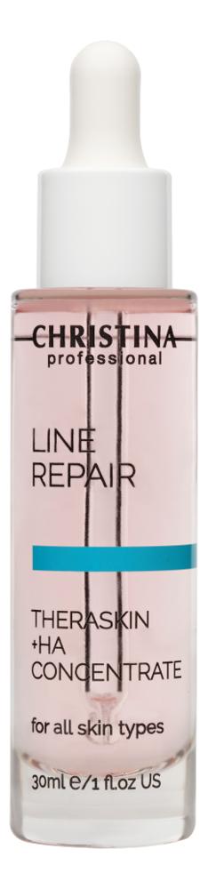 Увлажняющие капли для лица Line Repair Theraskin HA Concentrate 30мл christina line repair theraskin ha