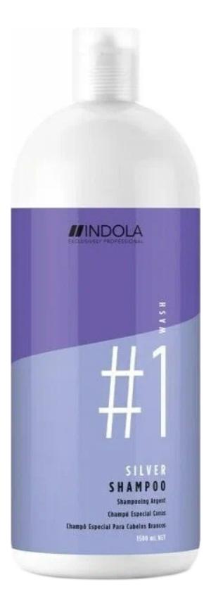 Купить Нейтрализирующий шампунь для волос Innova Silver Shampoo: Шампунь 1500мл, Indola