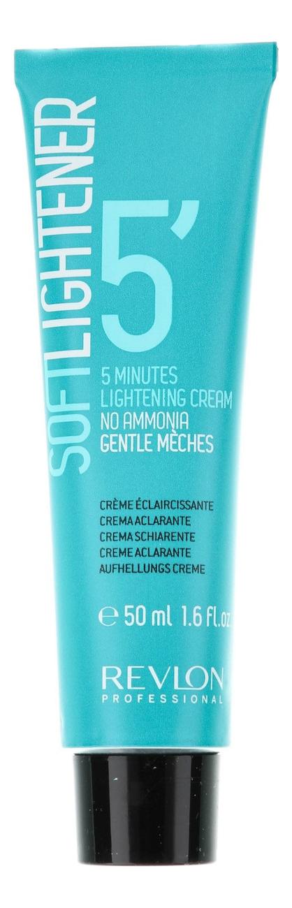 Осветлитель для волос Soft Lightener 5 Minutes Lightening Cream 50мл самый щадящий осветлитель для волос