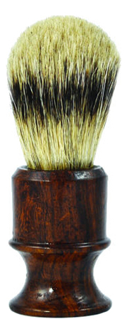 Помазок для бритья Барсучий ворс SB-11259 Mizoku Rosewood помазок для бритья 81sb353cr щетка барсучий ворс
