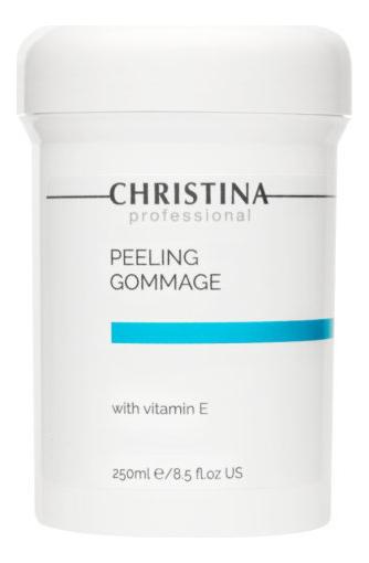 Пилинг-гоммаж для лица с витамином Е Peeling Gommage with Vitamin Е 250мл гоммаж christina отзывы