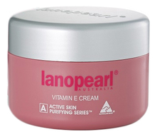 Lanopearl Крем для лица Aktive Skin Vitamin E Cream With Evening Primrose, Collagen & Lanolin 100г