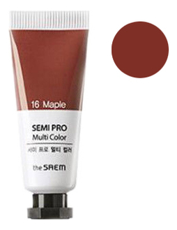 Универсальный цветной пигмент Semi Pro Multi Color 5мл: 16 Maple
