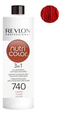 Краска для волос Nutri Color Creme 740 Copper: Краска 750мл revlon крем краска nutri color creme 270 мл