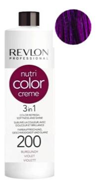 Краска для волос Nutri Color Creme 200 Violet: Краска 750мл fito color краска для волос