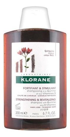 Шампунь для ослабленных волос Quinine Shampooing A La Et Aux Vitamines B: 200мл