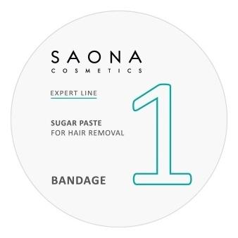 Сахарная паста для шугаринга Expert Line 1 Sugar Paste For Hair Removal Bandage : Паста 200г