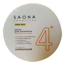 Saona Cosmetics Сахарная паста для депиляции Expert Line 4+ Sugar Paste For Hair Removal Normal & Fast