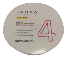 Saona Cosmetics Сахарная паста для шугаринга нормальная Expert Line 4 Sugar Paste For Hair Removal Normal