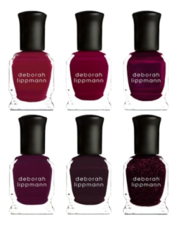 Deborah Lippmann Набор лаков для ногтей Lady in Red 6*8мл (Little Red Corvette + Better Off Red + Chasing Rubies + Red Blooded Woman + Red Red Wine + Crimson and Clover)