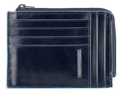 Чехол для кредитных карт Blue Square PU1243B2R/BLU2 чехол для кредитных карт piquadro pulse pu1243p15s blu2 синий натур кожа