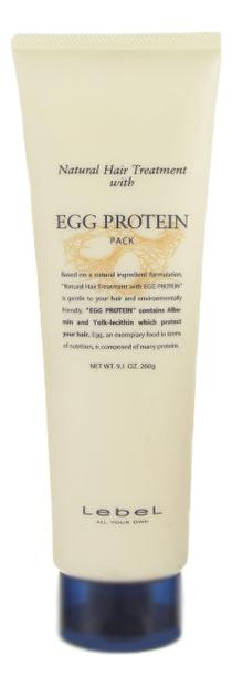 Маска для волос с яичным протеином Natural Hair Treatment With Egg Protein Pack: Маска 260г egg organic маска