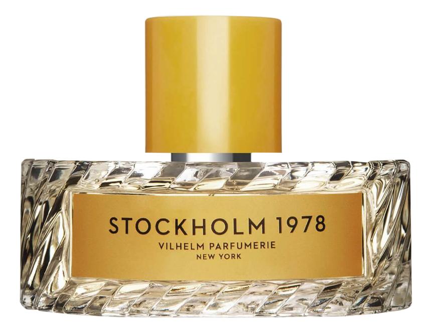 Vilhelm Parfumerie Stockholm 1978: парфюмерная вода 100мл тестер vilhelm parfumerie 125th bloom туалетные духи тестер 100 мл