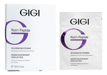 GiGi Пептидная маска-контур для век Nutri-Peptide Rejuvenating Eye Contur Mask 4*10мл