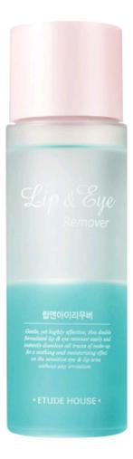 Купить Средство для снятия макияжа с глаз и губ Lip & Eye Remover: Средство 100мл, Средство для снятия макияжа с глаз и губ Lip & Eye Remover, Etude House