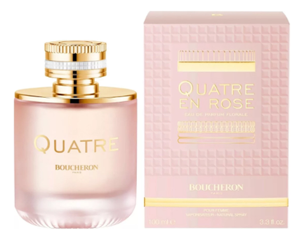 Купить Quatre En Rose: парфюмерная вода 100мл, Boucheron