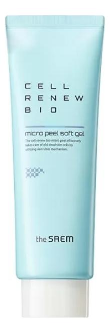 Био-гель скатка для лица Cell Renew Bio Micro Peel Soft Gel: Пилинг 40мл гельскатка micro peel soft gel 40 мл the saem cell renew bio