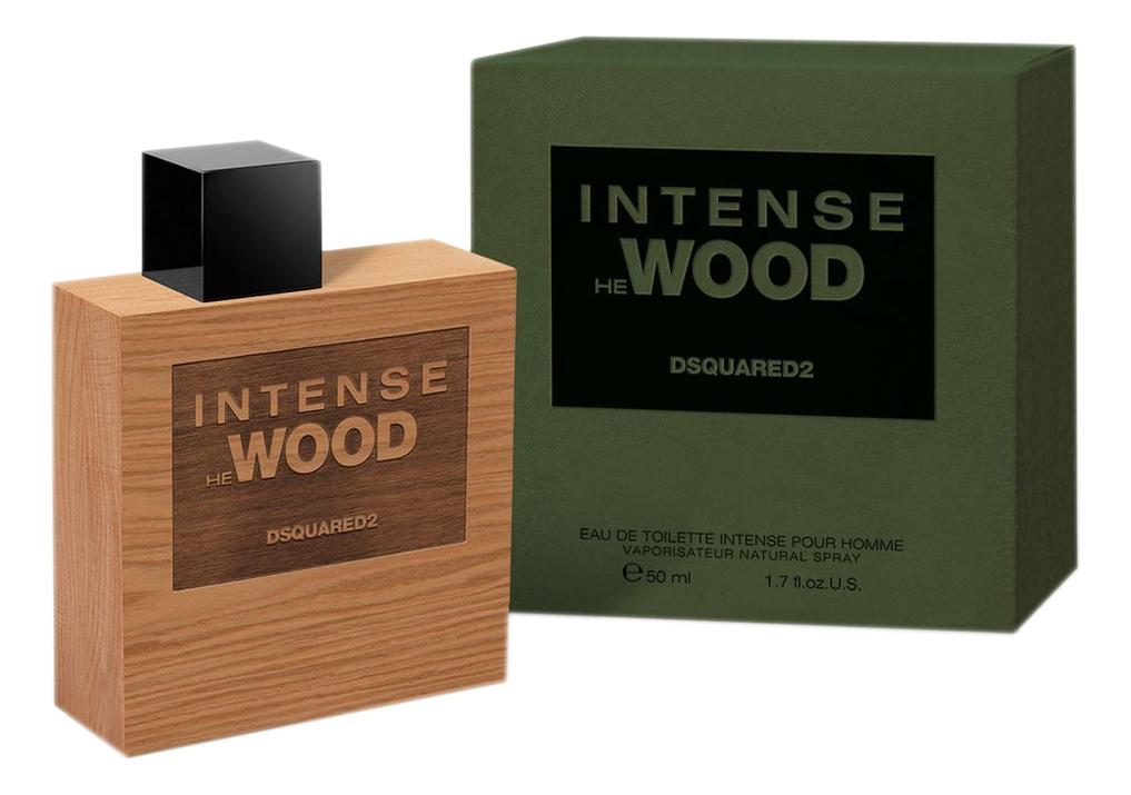 Dsquared2 Intense He Wood: туалетная вода 50мл dsquared2 he wood intense
