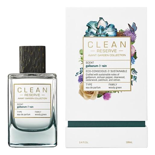 Clean Galbanum & Rain: парфюмерная вода 100мл clean rain парфюмерная вода 60мл тестер