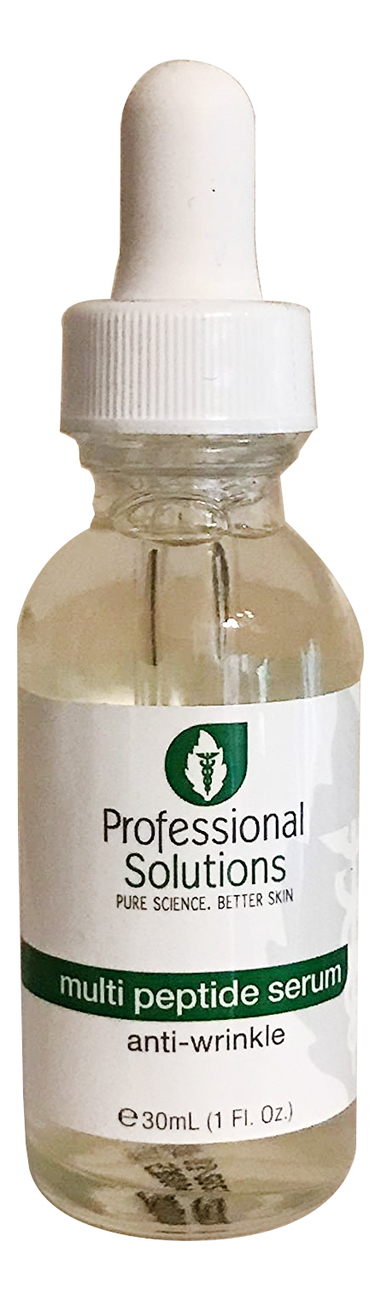Фото - Мультипептидная сыворотка для лица Multi Peptide Serum Anti-Wrinkle 30мл омолаживающая сыворотка для лица с пептидами men s routtne youth restore peptide serum 30мл