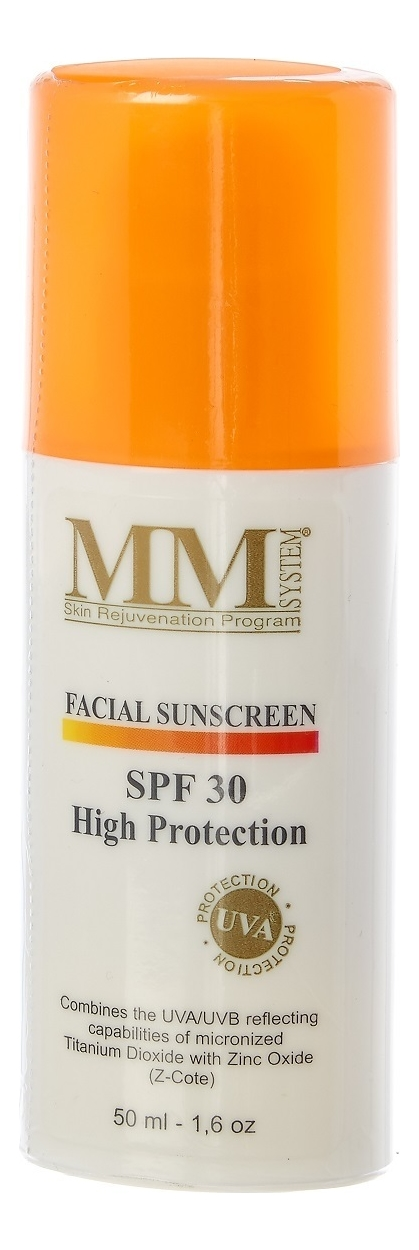 Лосьон солнцезащитный Facial Sunscreen High Protection SPF30 50мл
