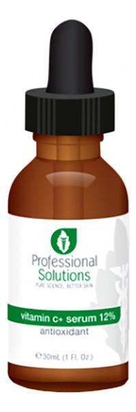 Купить Сыворотка для лица с витамином С Vitamin + Serum 12% Anti-Oxidant 30мл, Professional Solutions