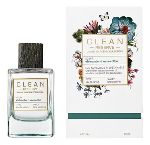 Clean White Amber & Warm Cotton: парфюмерная вода 100мл