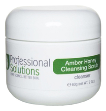 Professional Solutions Ванильно-медовый скраб для лица Amber Honey Cleansing Scrub Cleanser 60г