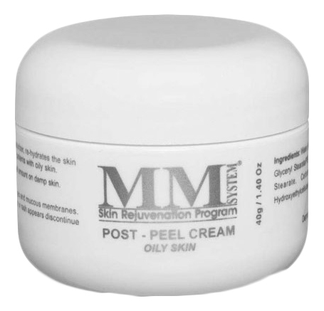 Купить Увлажняющий крем для жирной кожи лица Post-Peel Cream Oily Skin 40г, Mene & Moy System