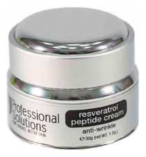 Professional Solutions Антивозрастной крем для лица Resveratrol Peptide Cream Anti-Wrinkle 30г