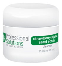 Professional Solutions Клубничный скраб для лица Strawberry Jojoba Seed Scrub 60г
