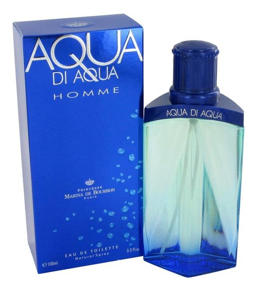Princesse Marina De Bourbon Aqua di Homme: туалетная вода 100мл