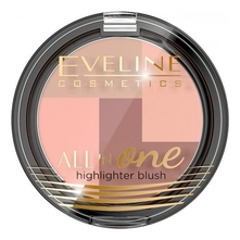 Eveline Хайлайтер для лица All In One Highlighter Blush 6,5г