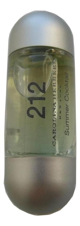 цена Carolina Herrera 212 Summer Cocktail: туалетная вода 60мл тестер онлайн в 2017 году