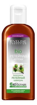 Биоактивный репейный шампунь для волос Bio Репейная аптека 6ХRepair 150мл