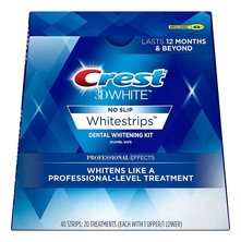 Crest Отбеливающие полоски 3D White Professional Whitestrips Effects 40шт