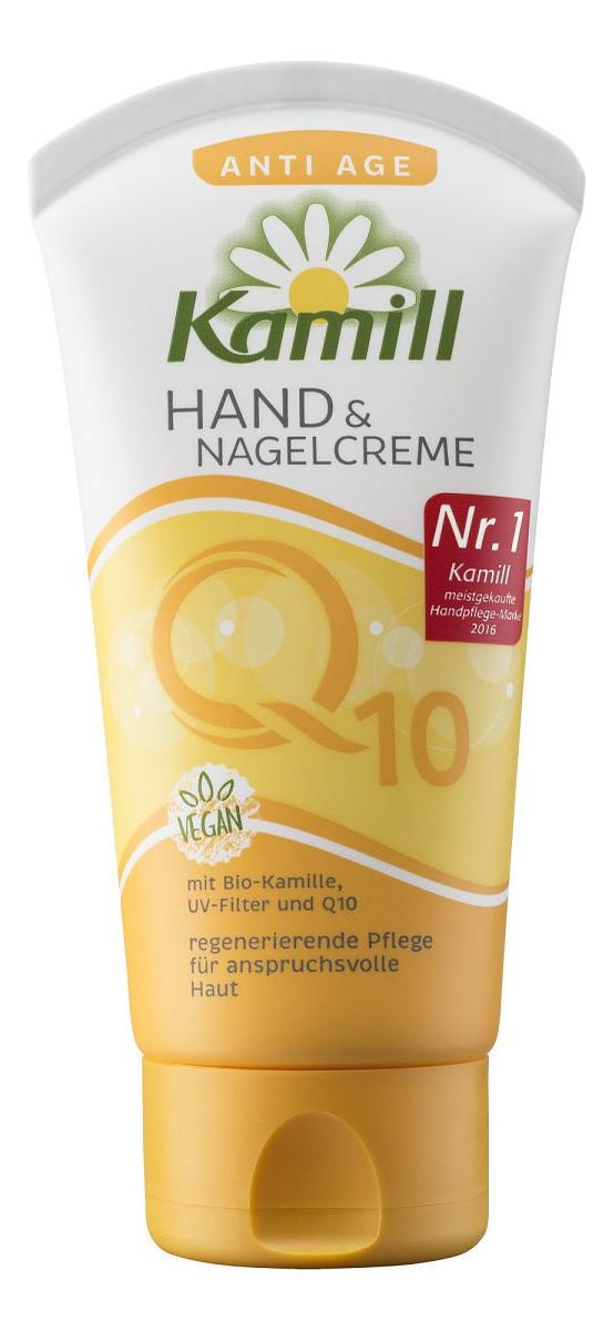 Фото - Крем для рук и ногтей Anti Age Q+ Hand Cream 75мл крем для рук и ногтей экстракт лаванды 75мл aura 7184