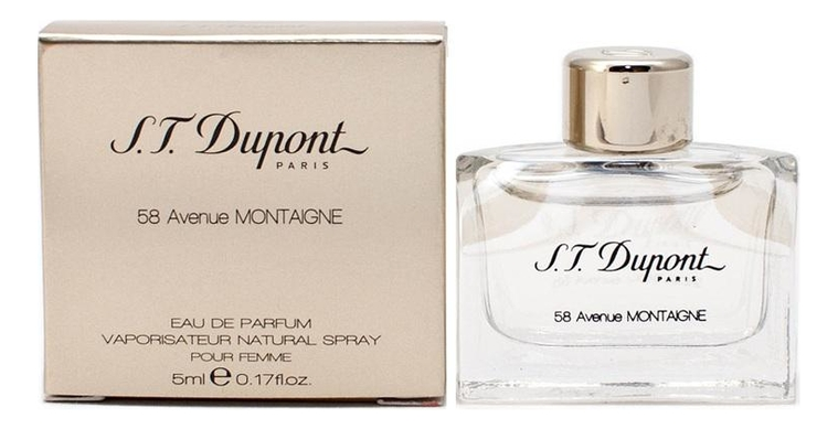 Купить 58 Avenue Montaigne: парфюмерная вода 5мл, S.T. Dupont