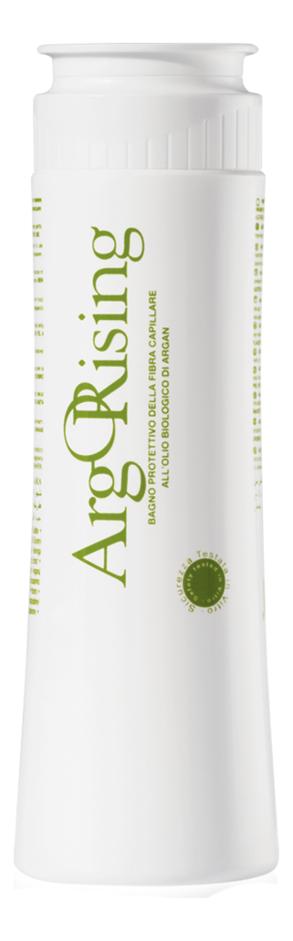Биоэссенциальный защитный шампунь с аргановым маслом Arg Orising Bagno Protettivo Della Fibra Capillare 250мл фото