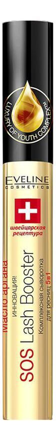 Фото - Комплексная сыворотка для ресниц 5 в 1 Sos Lash Booster 10мл eveline cosmetics комплексная сыворотка для ресниц 5в1 sos lash booster