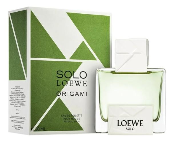 Loewe Solo Origami: туалетная вода 50мл