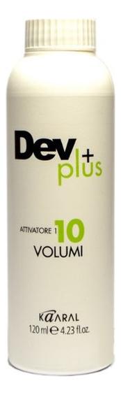 Осветляющая эмульсия для окрашивания волос 3% Dev Plus: Эмульсия 120мл недорого