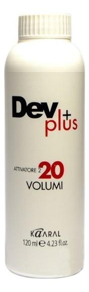 Купить Осветляющая эмульсия для окрашивания волос 6% Dev Plus: Эмульсия 120мл, KAARAL