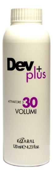 Осветляющая эмульсия для окрашивания волос 9% Dev Plus: Эмульсия 120мл недорого