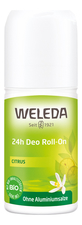 Weleda Дезодорант с экстрактом цитруса Citrus 24h Deo Roll-On 50мл