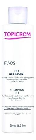 Фото - Очищающий гель для тела и кожи головы PV/DS Gel Nettoyant 200мл topicrem гель pv cleansing gel очищающий с антимикотическим эффектом pv 200 мл