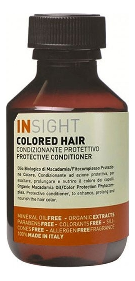 Кондиционер для волос с экстрактом хны и маслом манго Colored Hair Protective Conditioner: 100мл
