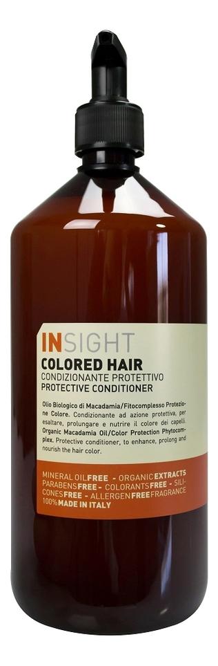 Кондиционер для волос с экстрактом хны и маслом манго Colored Hair Protective Conditioner: 900мл