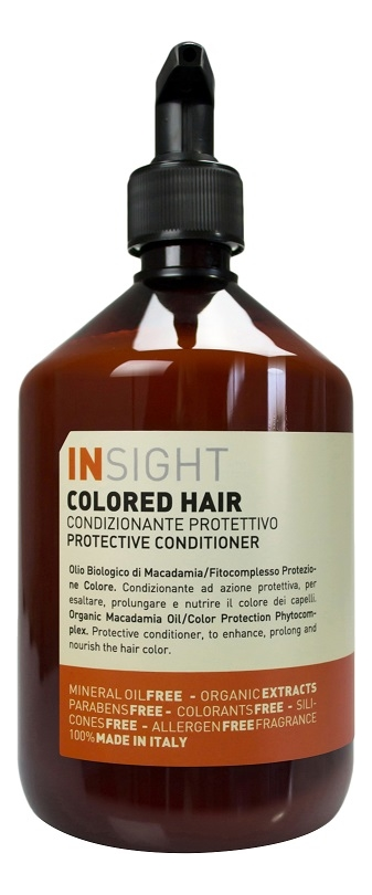 Кондиционер для волос с экстрактом хны и маслом манго Colored Hair Protective Conditioner: 400мл